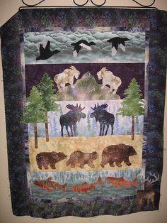 I LOVE This Quilt!!!......Moose Junction by McKenna Ryan by kpscarlett, via Flickr