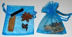 Spice bags, cute idea to start celebrating havdalah at home