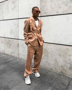 Behind The Scenes By lessiswore Nude Outfits, Fashion Outfits, Boy Outfits, Fashion Ideas, Men's Fashion, Co Ord Suit, Cool Street Fashion, Street Style, Boyish Style