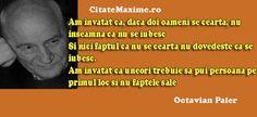 """""""Am invatat ca, daca doi oameni se cearta, nu inseamna ca nu se iubesc. Si nici faptul ca nu se cearta nu dovedeste ca se iubesc. Am invatat ca uneori trebuie sa pui persoana pe primul loc (citeste mai mult)""""  #CitatImagine de Octavian Paler  Iti place acest #citat? ♥Like♥ si ♥Share♥ cu prietenii tai.  #CitateImagini: #Dragoste #SuferintaInDragoste #Iubire #Relatii #AutorRoman #DragosteAdevarata #Cearta #OctavianPaler #romania #quotes  Vezi mai multe #citate pe http://citatemaxime.ro/"""