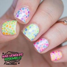 Nailvengers Assemble: Glitter Placement