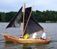 Inagua Sailing Sharpie wooden boat plans