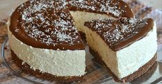 Cheesecake cocco e nutella Mini Cheesecake, Cheesecake Recipes, Dessert Recipes, Torte Recepti, Kolaci I Torte, Food Cakes, Cheesecakes, Torte Cake, Ice Cream Candy