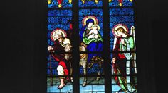 Vidriera de la Catedral de Luxemburgo
