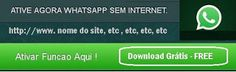COMO USAR WHATSAPP SEM INTERNET - CONHEÇA OS APLICATIVOS MILAGROSOS!!! http://www.marciacarioni.info/2016/10/como-usar-whatsapp-sem-internet.html