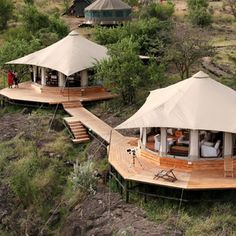 Dwellers Without Decorators: Glamping how fabulous! : Dwellers Without Decorators: Glamping how fabulous! Nairobi, Safari Holidays, Kenya Travel, Luxury Tents, Camping Glamping, Camping Tips, Backpacking Tent, Out Of Africa, Tanzania