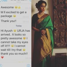 Client  Vintage Dreams. Love for URJA! Don't take my word for it hear it from the clients. Thank you so much  For purchases email me at  designerayushkejriwal@hotmail.com or what's app me on 00447840384707  We ship WORLDWIDE. #sarees#saris#indianclothes#womenwear #anarkalis #lengha #ethnicwear #fashion #ayushkejriwal#Bollywood #vogue #indiandesigners #handmade #britishasianfashion #instalove #desibride #bollywoodfashion #aashniandco #perniaspopupshop #style #indianbeauty #classy…