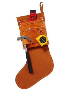 This stocking is for the handyman of the home #hgtvmagazine http://www.hgtv.com/design/make-and-celebrate/holidays/diy-stockings-from-hgtv-stars?soc=pinterest
