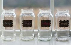 Getting Creative with Chalkboard Vinyl Labels
