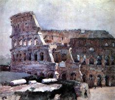 Image Detail for - Colosseum - Vasily Surikov - WikiPaintings.org