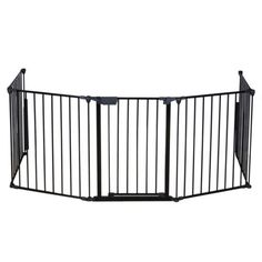 Extra Wide Baby Safety Gate Retractable Dog Fence Door Pet Infant Thru Child