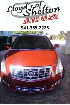 This beautiful 2014 Cadillac XTS has its new windshield and is ready to return to the road safely. Thank you for choosing Lloyd's of Shelton! https://lloydsofshelton.com/blog/auto-glass-replacement-sarasota-fl/ | #AutoGlass #Sarasota