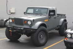 Jeep Nukizer 715 Chrysler prototype vehicle - only one built Cool Jeeps, Cool Trucks, Jeep Concept, Concept Cars, Jeep Garage, Jeep Pickup Truck, Badass Jeep, Jeep Cj7, Alto Car