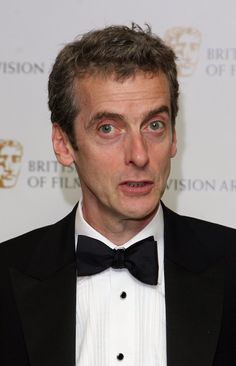 Peter Capaldi looks a little like an older version of the Tenth Doctor.