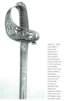 "From ""The Sword Presented to Major William George Drummond Stewart, VC, in Recognition of his Services in the Crimean War and Indian Mutiny Campaign"" by Leslie Southwick, from ARMS & ARMOUR, Vol. 5 No. 2, 2008, 108-141."