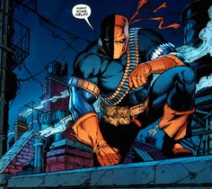 Deathstroke from Batman #646 - Shane Davis & Alex Sinclair