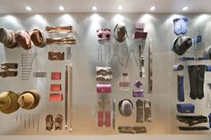 CuldeSac for Hermes. Clever use of peg board. These are tools every man should have!, dimensionalized product