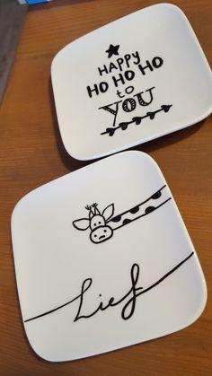 Porselein tekenen#handletteren#zwart-wit