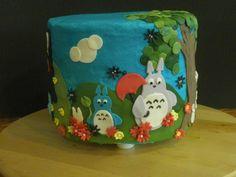 Miazaki totoro cake