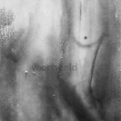 Body language print op hout, poster, forex