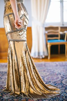 Photography: Sandra Marusic - www.sandramarusic.ch Read More on SMP: http://www.stylemepretty.com/2014/05/19/peach-gold-luxury-wedding-inspiration/