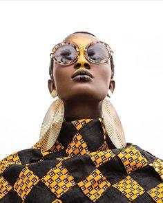 Model Aliane Uwimana Gatabazi for ROOTS Magazine.