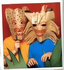 Image result for safari dieren maskers karton