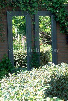 .. Outdoor Mirrors Garden, Garden Mirrors, Backyard Projects, Garden Projects, Garden Ideas, Magic Mirror, Garden Architecture, Rustic Gardens, Garden Spaces