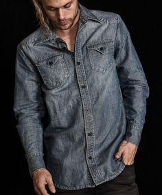 e9eb205103 NAPOLEON DJANGO WESTERN SHIRT Denim Shirt