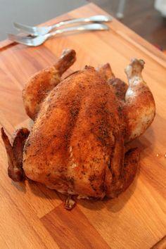 Chicken in the crock pot--tastes like rotisserie. PERXFOOD.COM