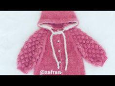 #bebekhırkası Nar tanesi Hırka 1.bölüm - YouTube Knit Crochet, Chloe, Fur Coat, Winter Hats, Youtube, Knitting, Kids, Jackets, Fashion
