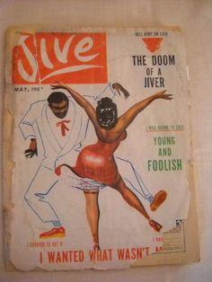 Vintage May 1957 JIVE Magazine Black Romance African by ChanteeB, $25.00