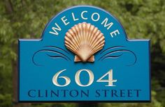 604 Welcome Sign | Danthonia Designs
