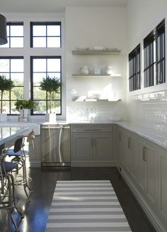 Like the French fray lowers and all white uppers, with the black trimmed windows. Clean look