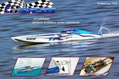 Genesis 1122 Catamaran Racing Boat/ Fiberglass with Dual Motors 3660 brushless motor Hobbywing ESC . Shipping Packaging, Headphone With Mic, Water Cooling, Countries Around The World, Catamaran, Radio Control, Natural Disasters, Mobile Security, Racing