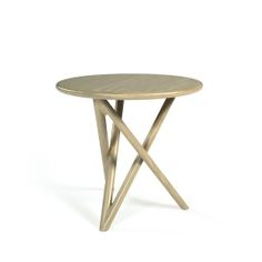 Back Round Side Table by Belta for Jane Hamley Wells - Tables - Jane Hamley Wells