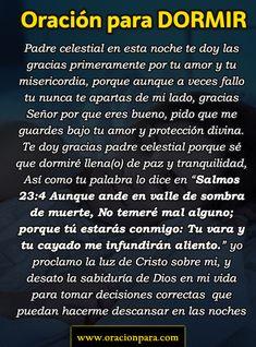 Night Prayer, God Prayer, Prayer Quotes, Jesus Quotes, Spiritual Prayers, Prayers For Healing, Catholic Prayers In Spanish, Personal Prayer, Good Night Blessings