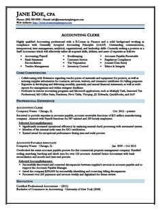 keyword optimized junior accountant resume template 42 - Professional Accounting Resume