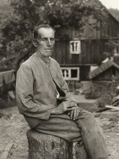 "August Sander. Farmer. 1931. Gelatin silver print. 10 3/16 x 7 3/8"" (25.8 x 18.7 cm). Acquired through the generosity of the family of August Sander. 472.2015.84. © 2017 Die Photographische Sammlung / SK Stiftung Kultur - August Sander Archiv, Cologne / ARS, NY. Photography"