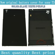 BESTEASYBUY original Back cover for Sony Xperia T3 D5103 D5102 battery cover back housing back Rear door free shipping