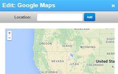 Google Maps voor uw website