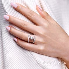 Gabriel & Co. - Voted #1 Most Preferred Bridal Brand.  The original NOVA Renewal engagement ring designed  so that your most precious memories can gleam even brighter.