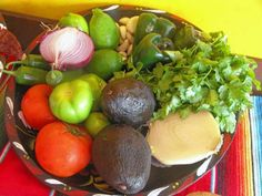 A variety of fresh ingredients are used to create the specialties at 3 Chicas in Wyckoff.