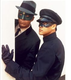 The Green hornet and Kato.
