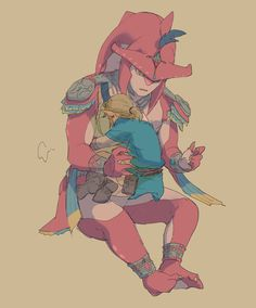 Mi príncipe (Sidlink) - The Legend Of Zelda Breath of The Wild (Yaoi) - Confianza The Legend Of Zelda, Legend Of Zelda Memes, Legend Of Zelda Breath, Billdip, Spideypool, Sidon Zelda, Game Character, Character Design, Prince Sidon