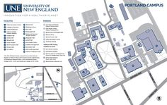 29 Best 2D City, Street and Campus Map Illustration images ... Une Portland Campus Map on una campus map, usm portland campus map, university of montana campus map, western new england campus map, pdx campus map,