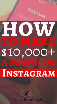Find out how those insta-celebrities do it. Learn every detail necessary for making over $10,000 a month on Instagram.   #instagram #makemoneyonline #instafamous #instagramarketing #advantagedlife Social Media Marketing Companies, Marketing Jobs, Social Media Tips, Affiliate Marketing, Make Money Fast, Make Money Online, Instagram Marketing Tips, Blog Online, Promote Your Business