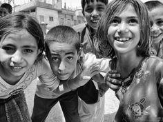 Syrian children by enzo marcantonio