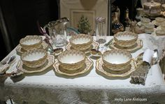 Antique Haviland Limoges China Ramekin Sets