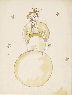 "See Original Artwork For ""The Little Prince"" In All Its Ragged Glory"